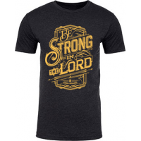 STRONG IN THE LORD - HERREN T-SHIRT - GRÖSSE M