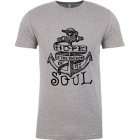 HOPE IS THE ANCHOR OF MY SOUL - HERREN T-SHIRT - GRÖSSE S